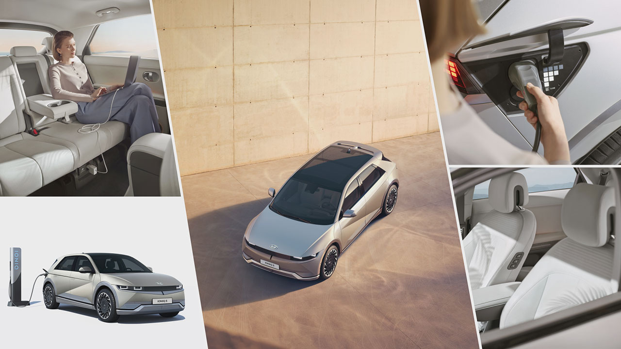 Hyundai IONIQ 5 külső elemei