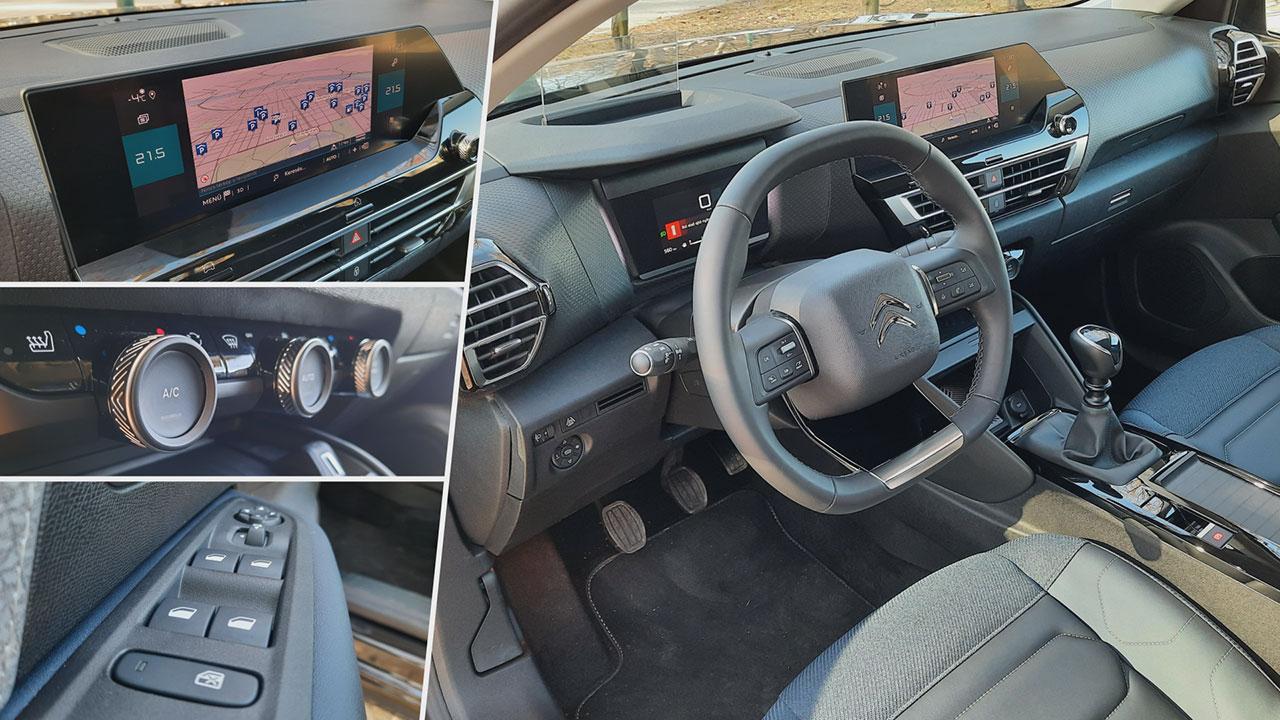 Az új Citroën C4 beltere