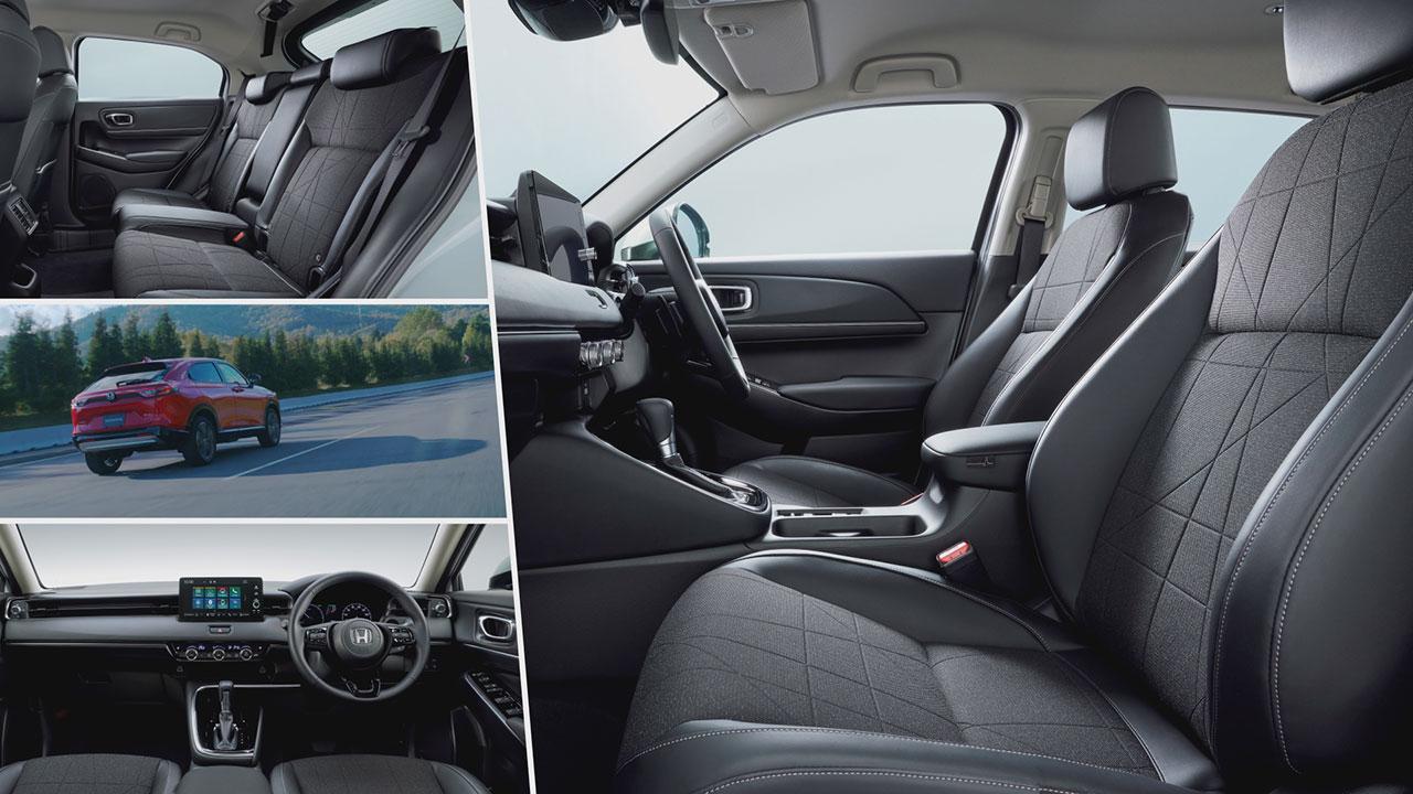 Honda HR-V e:HEV beltér