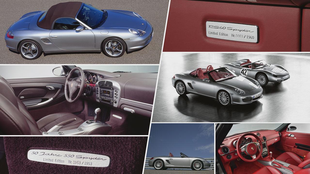 50 Years of the 550 Spyder belseje