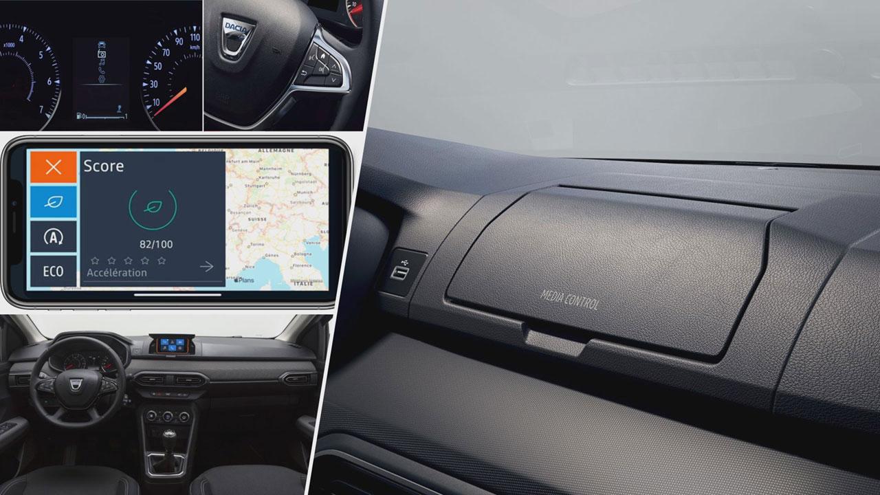 Dacia Media Control működése