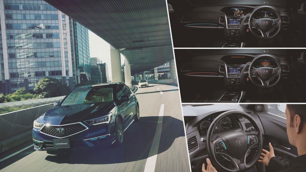 Honda Legend Hybrid részletei