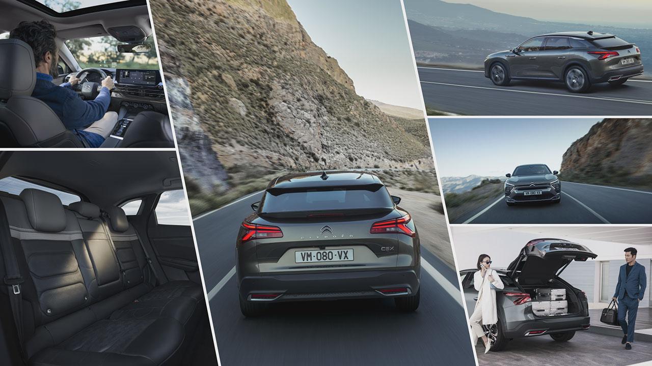 Az új Citroën C5 X vezetéstámogató berendezései