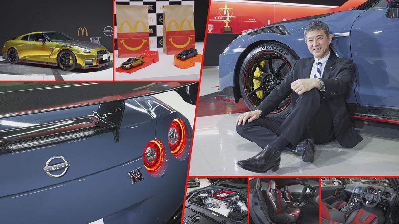Nissan GT-R NISMO részletek