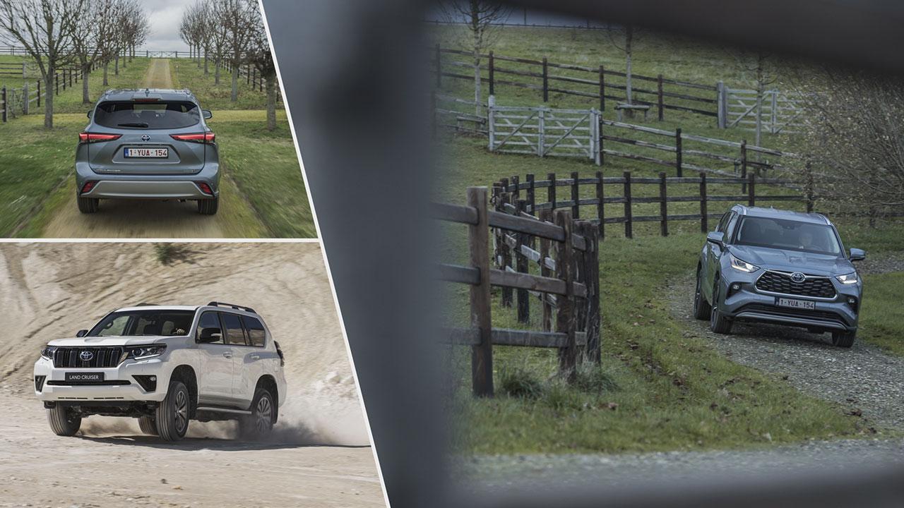 Toyota Highlander és Land Cruiser