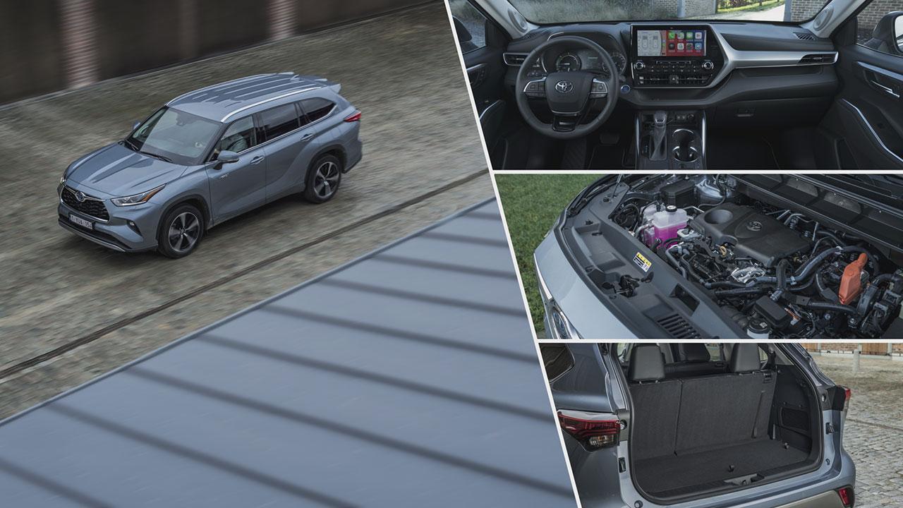 Toyota Highlander Hybrid intelligens összkerékhajtással