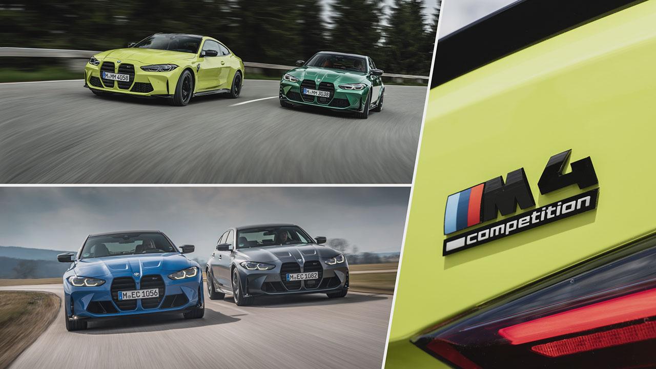 BMW M3 és M4 Competition M xDrive kívülről