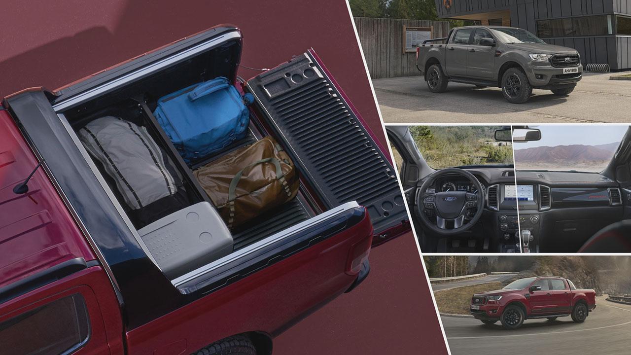 Ford Ranger Stormtrak és Wolftrak részletek