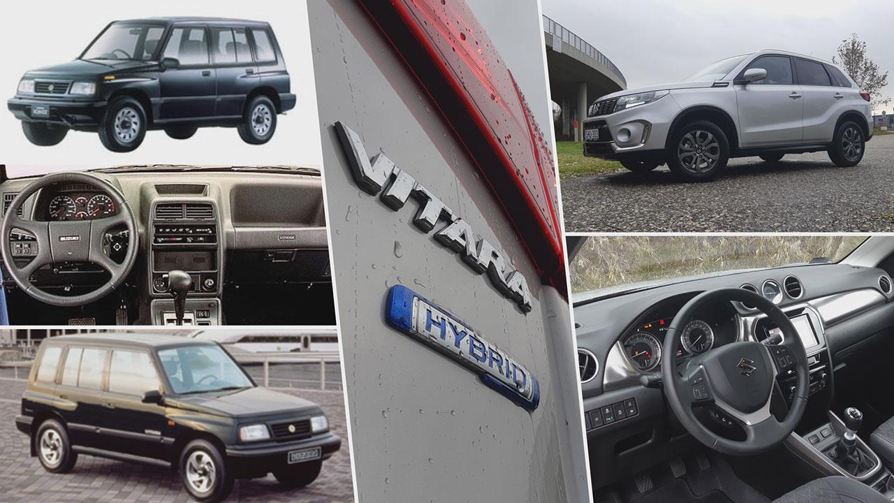 Suzuki Vitara régen és most