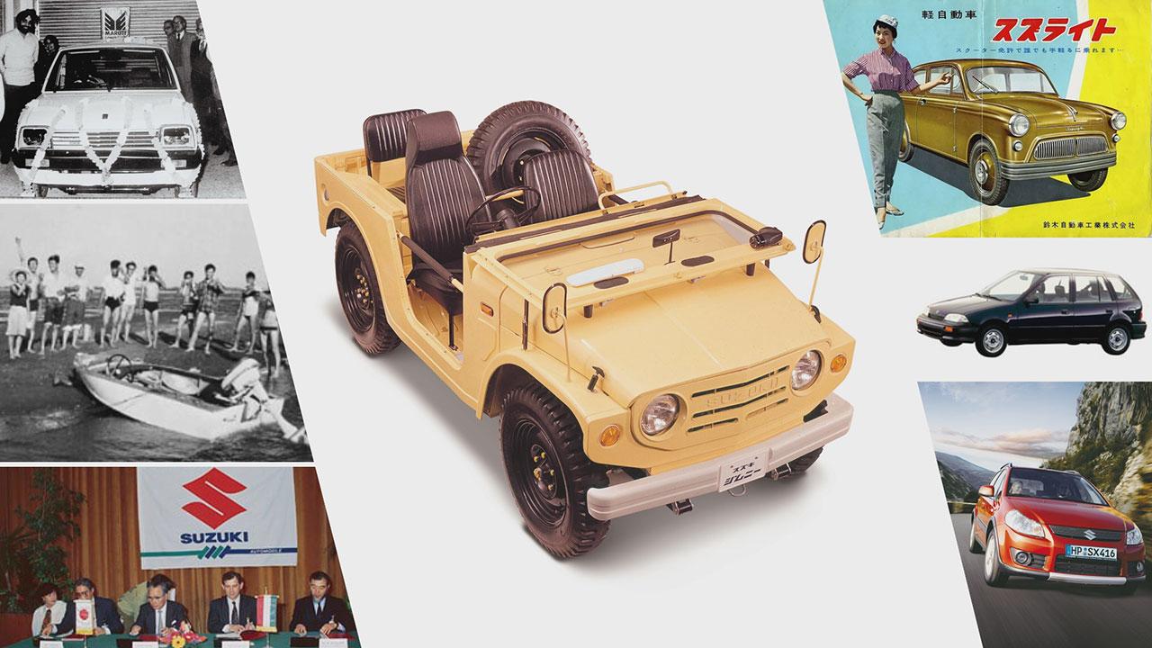 Suzuki történelem