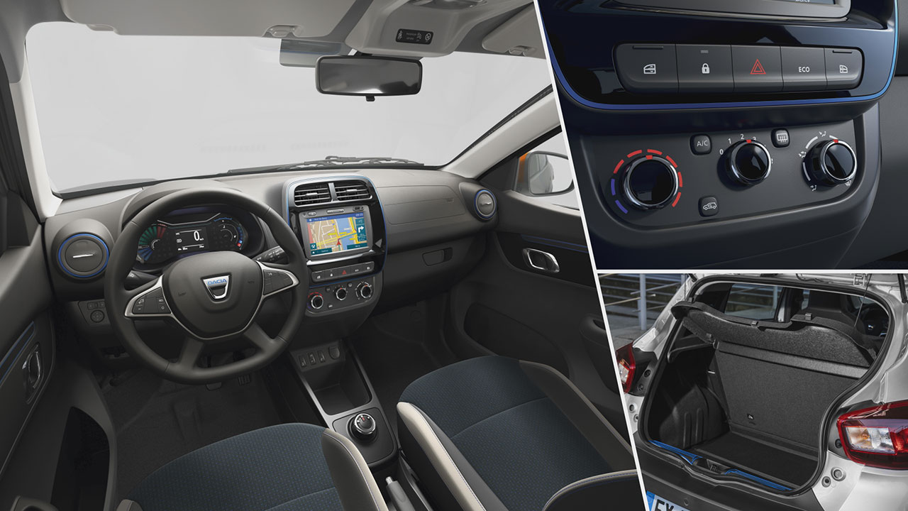 Dacia Spring Electric 45 beltere