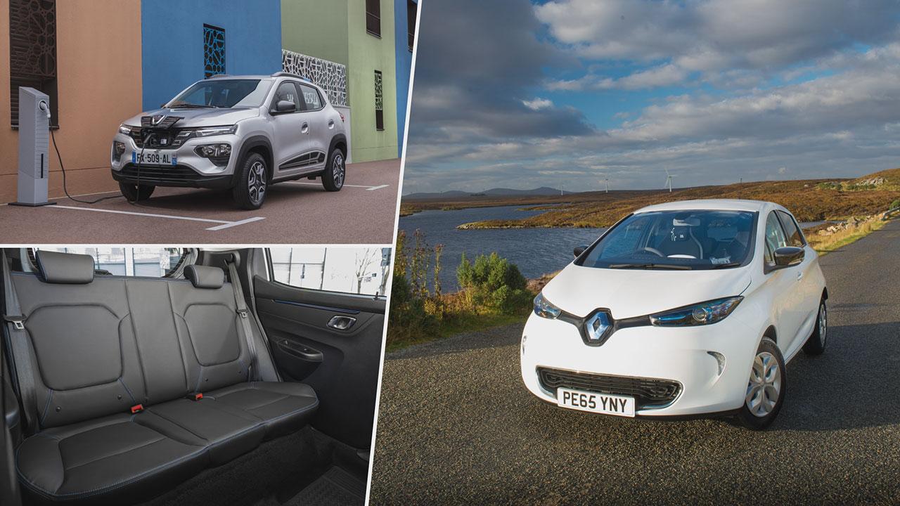 Dacia Spring Electric 45 és Renault ZOE