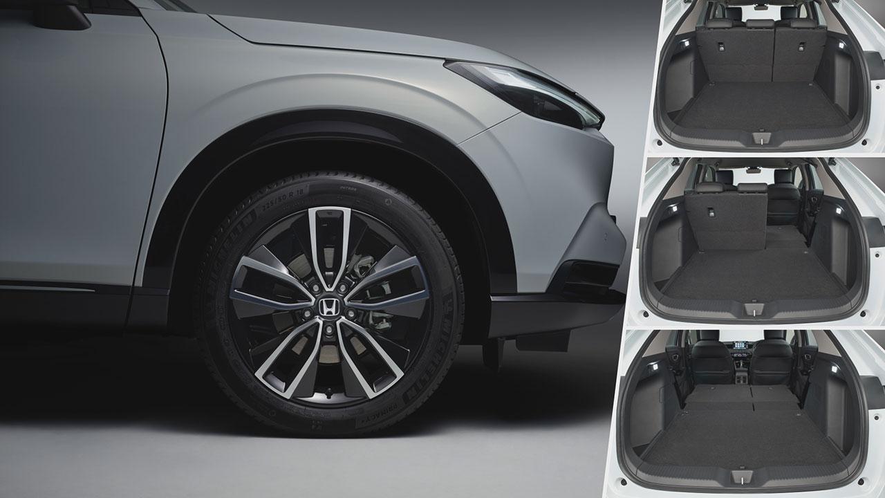 Honda HR-V e:HEV csomagtér