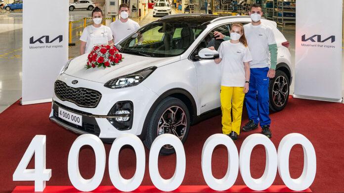 Négymillió Kia Zsolnán