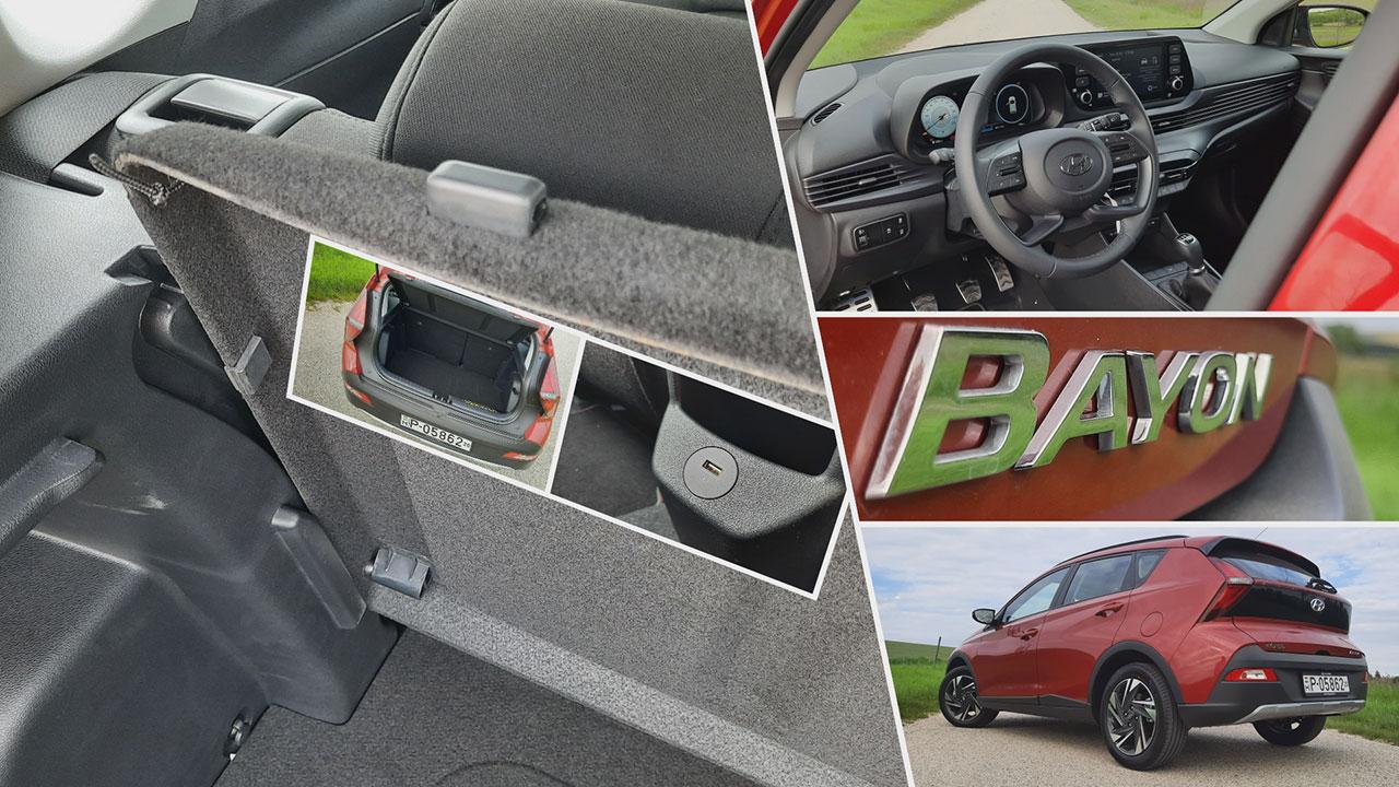 Hyundai Bayon részletei