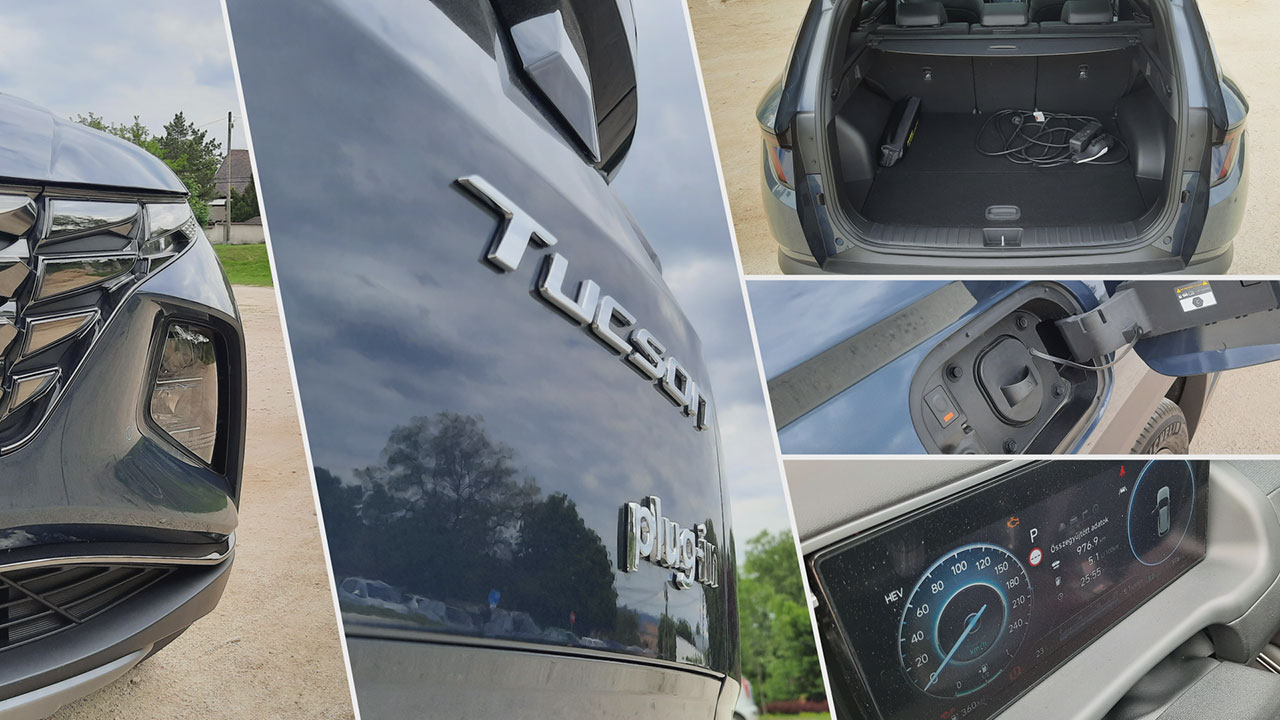 Hyundai Tucson Plug-in Hybrid részletek