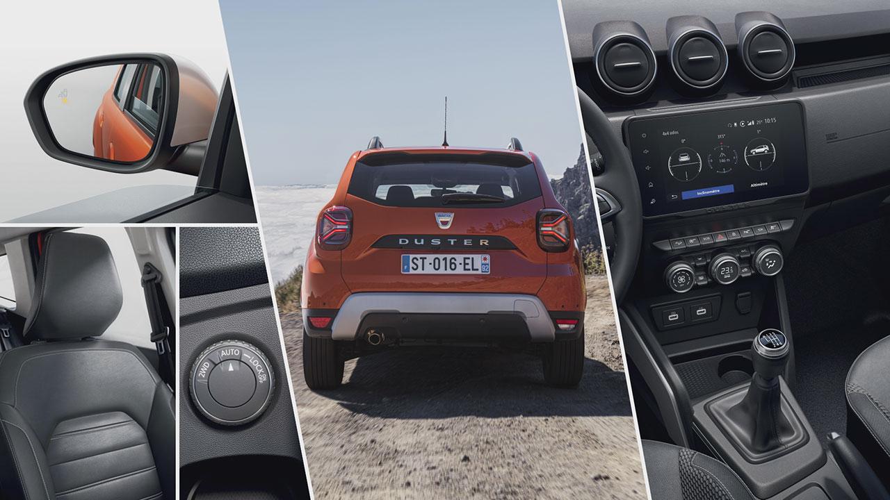 Dacia Duster 2021 részletek