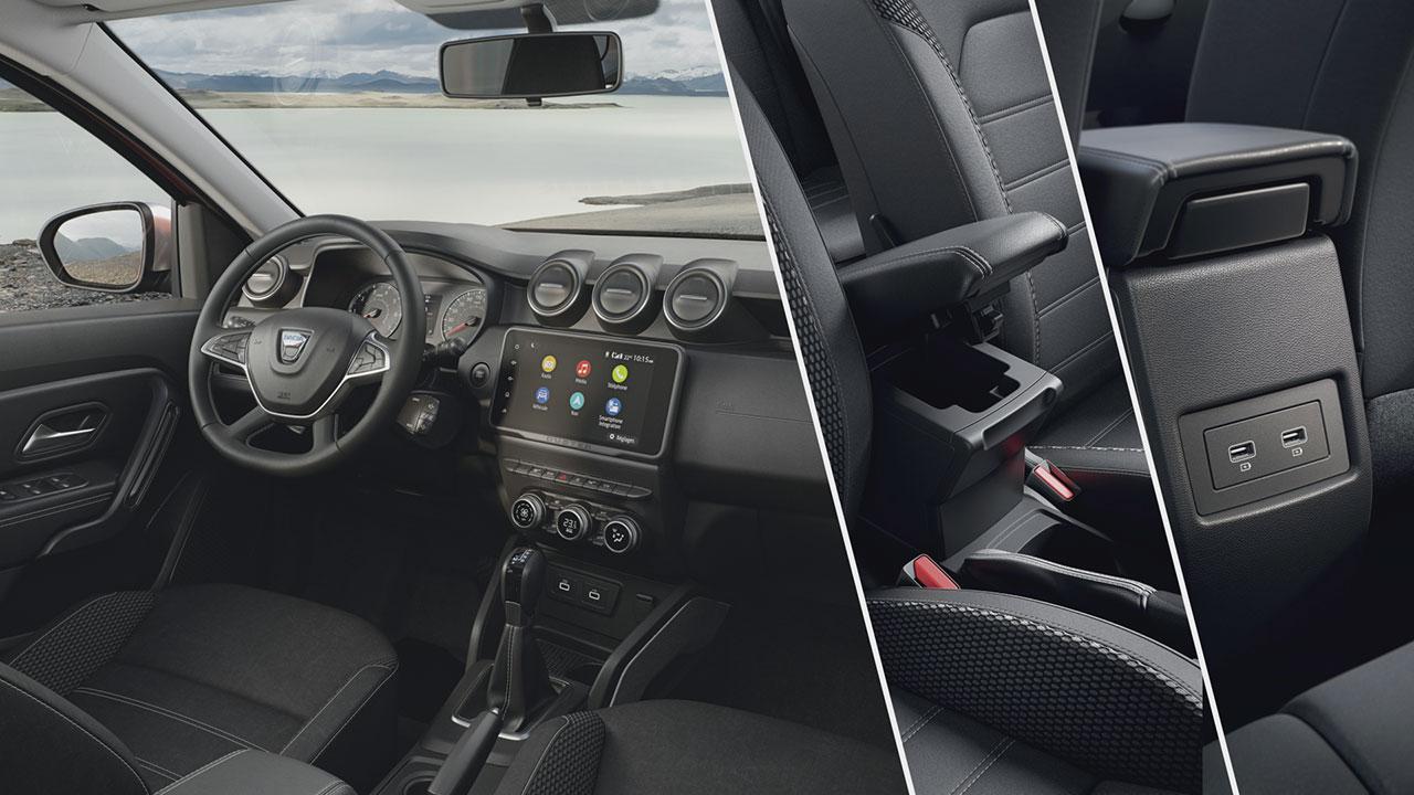 Az új Dacia Duster beltere